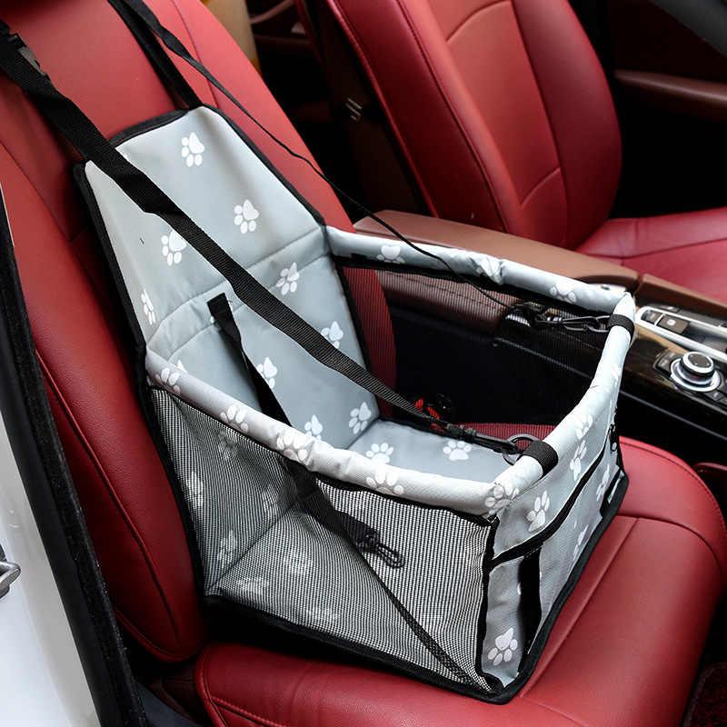 Автомобильный противогрязный коврик для сиденья, безопасная переноска для дома, сумка для щенков, автомобильные аксессуары для путешествий, складной переносной водонепроницаемый мешок для сиденья для собак, корзина