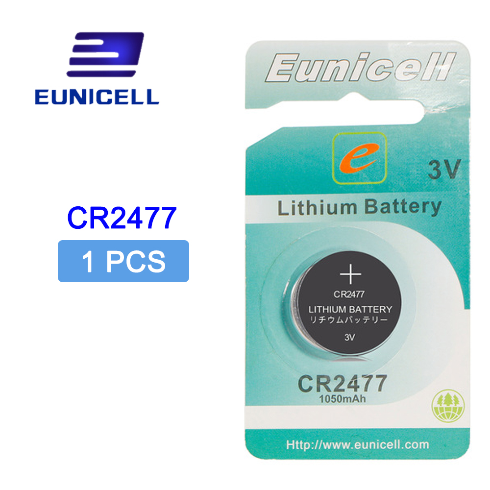 CR2477 Lithium Button Coin 1PCS 3V 1050mAh Cell Battery DL2477 ECR2477 LM2477 KCR2477 CR 2477 For Watches Calculator Flashlights