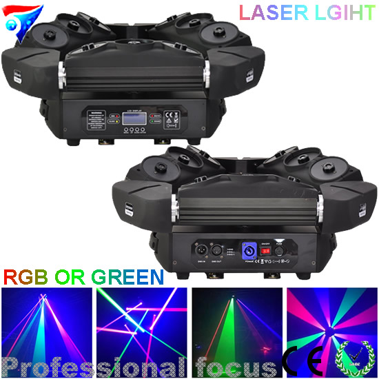 Free shipping 2pcs/lot  9 eyes moving head spider laser light 3x3 led laser stage lighting for dj lights free shipping 4pcs lot led moving head flying light for stage lighting dj light page 5