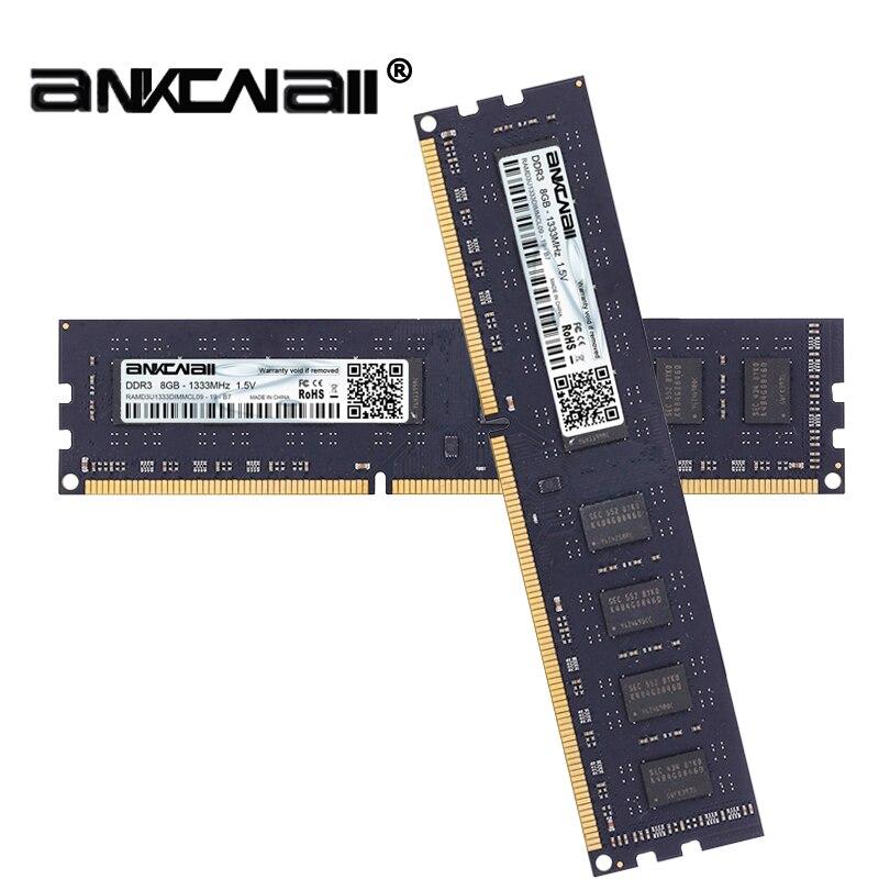 DDR3 RAM 8 Gb (2 pièces x 8 GB) 1333 MHz 1600 MHz PC3 10600/12800 Pour Intel ordinateur de bureau de mémoire DIMM 1.5 V 240Pin-in Béliers from Ordinateur et bureautique on AliExpress - 11.11_Double 11_Singles' Day 1