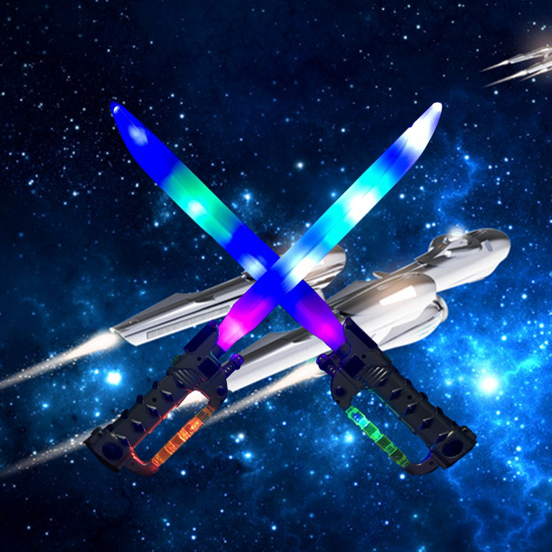 1PCS Laser Sword Luminous Toy Lightsaber Weapon Model Creative Gifts Children s Outdoor Boys Girls Flashing