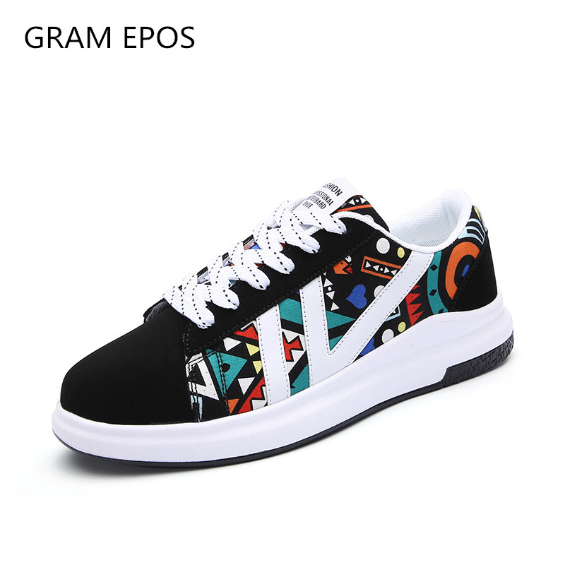 GRAM EPOS 2018 New Men Shoes mix color Casual  Shoes Mens  Spring Autumn Lace Up Men Tenis Fashion Sneakers male big size 45 46 men suede genuine leather boots men vintage ankle boot shoes lace up casual spring autumn mens shoes 2017 new fashion