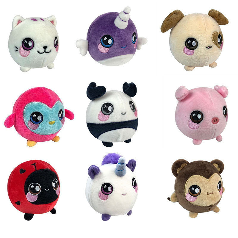 12cm Plush Squishy Slow Rising Foamed Stuffed Animal Squeeze Toys Soft Adorable Squishies PU Stress Relief Child Toy