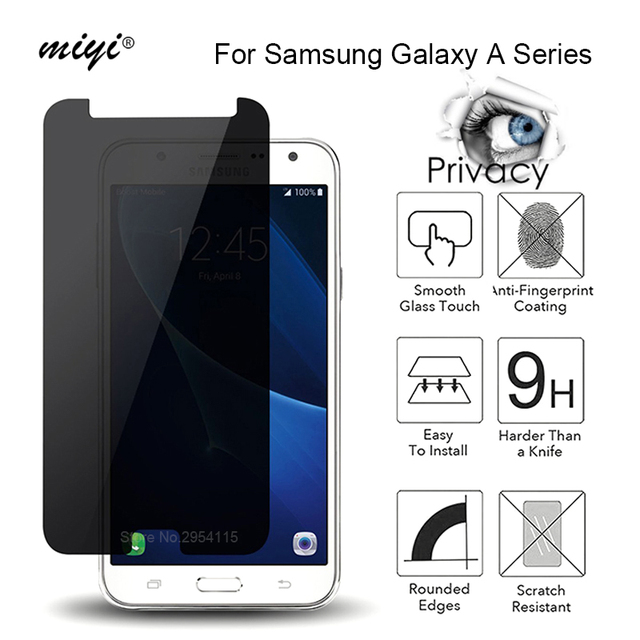 Us 1 55 5 Off Privacy Screen Protector For Samsung Galaxy J2 Pro 2018 Glass Anti Glare Tempered Glass For Samsung J7 J5 J2 Prime J3 2016 2017 In