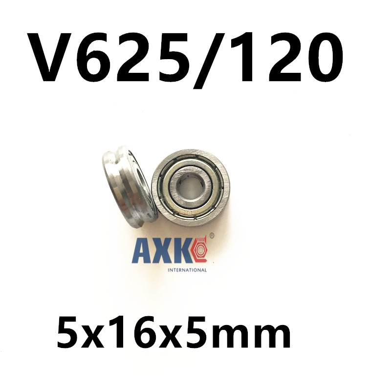 Free shipping 2pcs V625/120 V625ZZ 625W V groove deep groove ball bearing 5x16x5mm pulley bearing free shipping 2pcs v625 90 v625zz v groove deep groove ball bearing 5x16x5mm pulley bearing