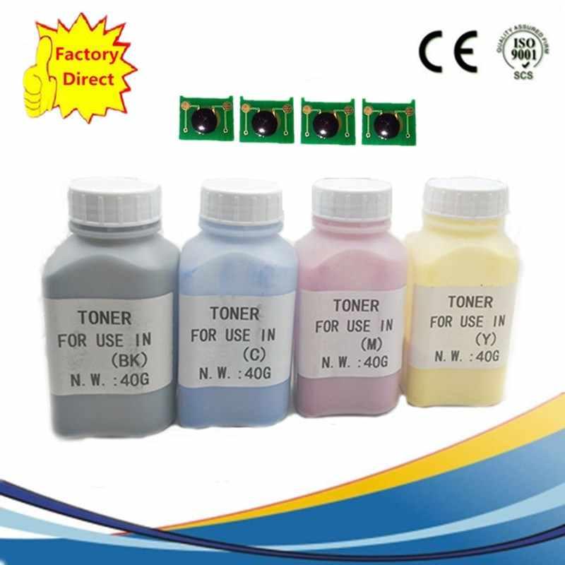 Ricarica Laser a Colori Polvere di Toner Kit + Laserjet CP-2020DN CM2320 CM 2320 CM-2320 C M2320 CB530A 304A Stampante