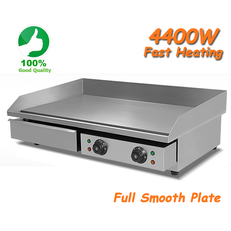 Merveilleux 73cm 4.4Kw Commercial Electric Griddle Countertop Kitchen Hotplate  Stainless Steel In Electric Grills U0026 Electric Griddles From Home Appliances  On ...