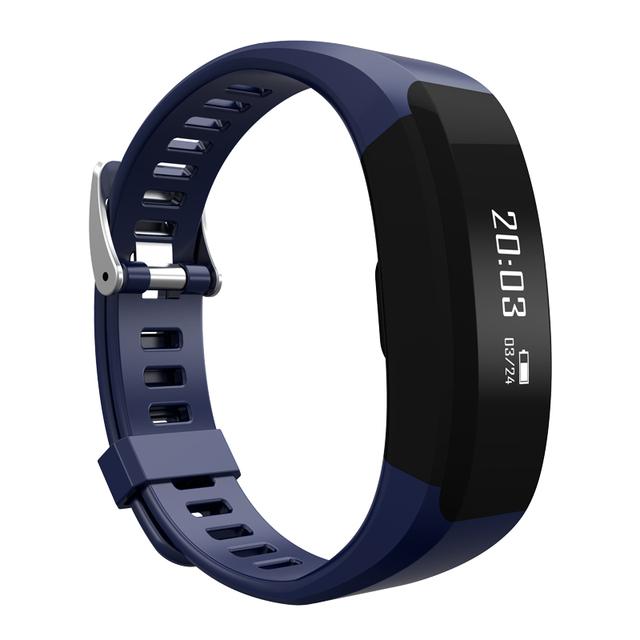 H28 inteligente pulsera bluetooth gimnasio pulsómetro pulsera recordatorio de llamadas pantalla oled táctil banda pk mi banda 2