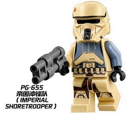Star Wars Figures Imperial Shoretropper Super Heroes Action Model Building Blocks Assemble Figures Toys Christmas Gift PG655