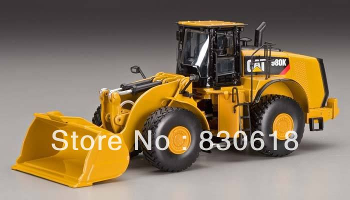 55296 1/50 DieCast Model Caterpillar Cat 980K Rock Configuration Wheel Loader Construction vehicles toy norscot 1 50 siecast model caterpillar cat ap655d asphalt paver 55227 construction vehicles toy