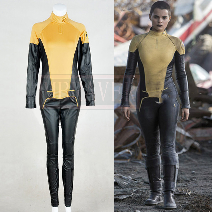 Deadpool Costume Negasonic Teenage Warhead Cosplay Costume Adult Women Halloween Carnival Suit Outfit Custom Made