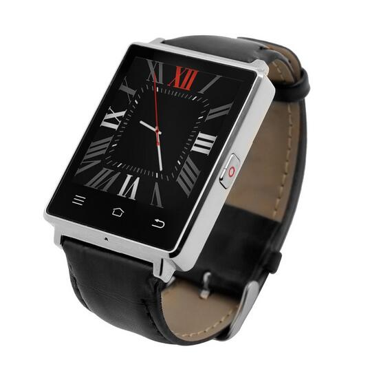 No 1 D6 1 63 WIFI Android 5 1 3G Smartwatch Phone MTK6580 1 3GHz Quad