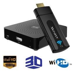 Беспроводной видеопередатчик с разъемом HDMI MEASY W2H мини A/V HDMI устройств, распаковки 60 г Full HD 1080 P 30 футов/10 м для проектора, ТВ Monito