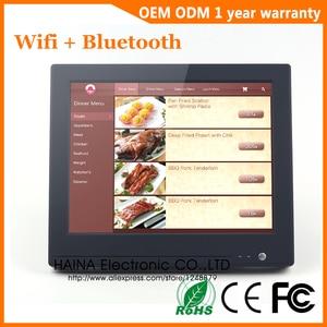 Image 2 - 15 インチ Wifi Bluetooth のタッチスクリーン POS システムオールインワンのデスクトップコンピュータ販売