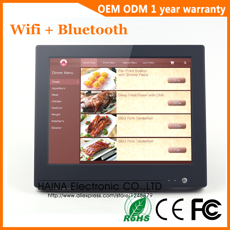 Image 2 - 15 inch Wifi Bluetooth Touch Screen POS System All in one Desktop Computer For Sale-in LCD Monitors from Computer & Office
