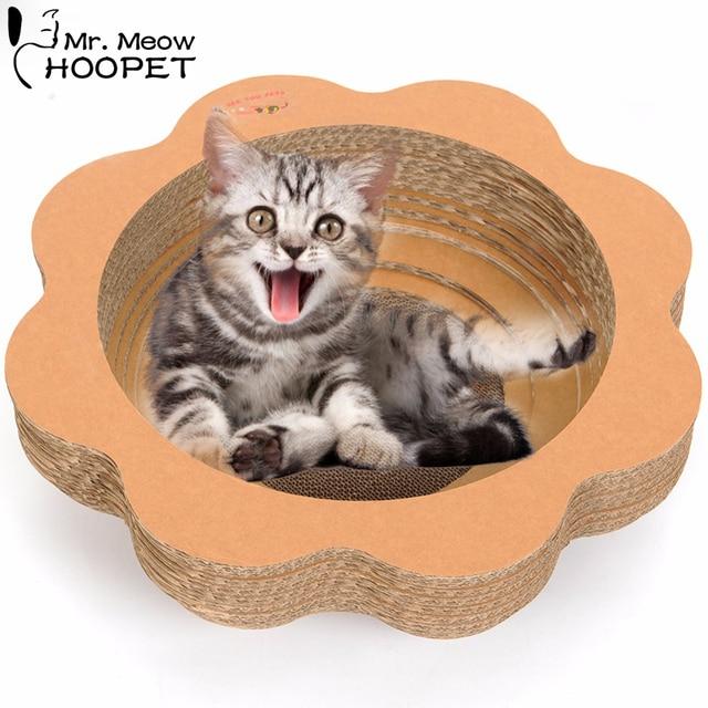 Premium Petal Shaped Pet Cat Sofa Scratching Cardboard Bed Corrugated Board  Kitty Scratcher Lounge