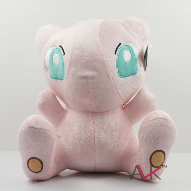 1pc 23cm Pink Cute Pokemon Rare Mew Plush Soft Doll Pocket Monster Plush Toys Christmas Gifts Free Shipping