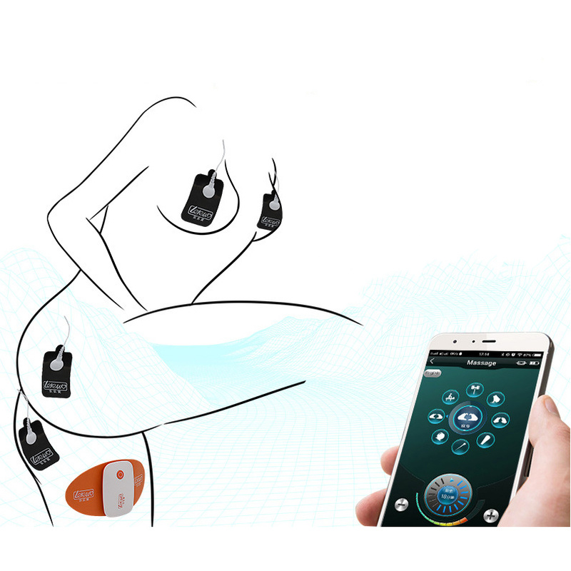 Smart APP télécommande sans fil USB charge électrique choc jouets sexuels femme masturbateur