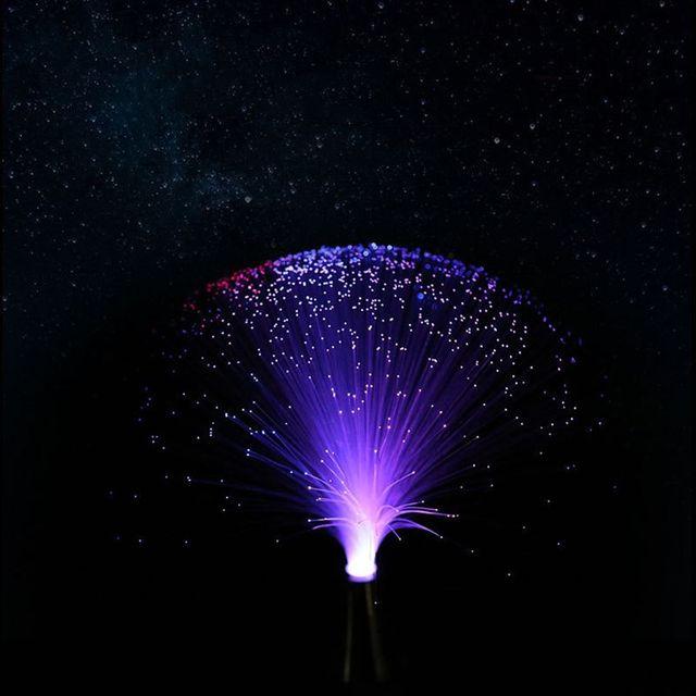 Changing Colors Led Fiber Optic Lamp Light Holiday Lights Wedding Christmas Party Lighting Decoration