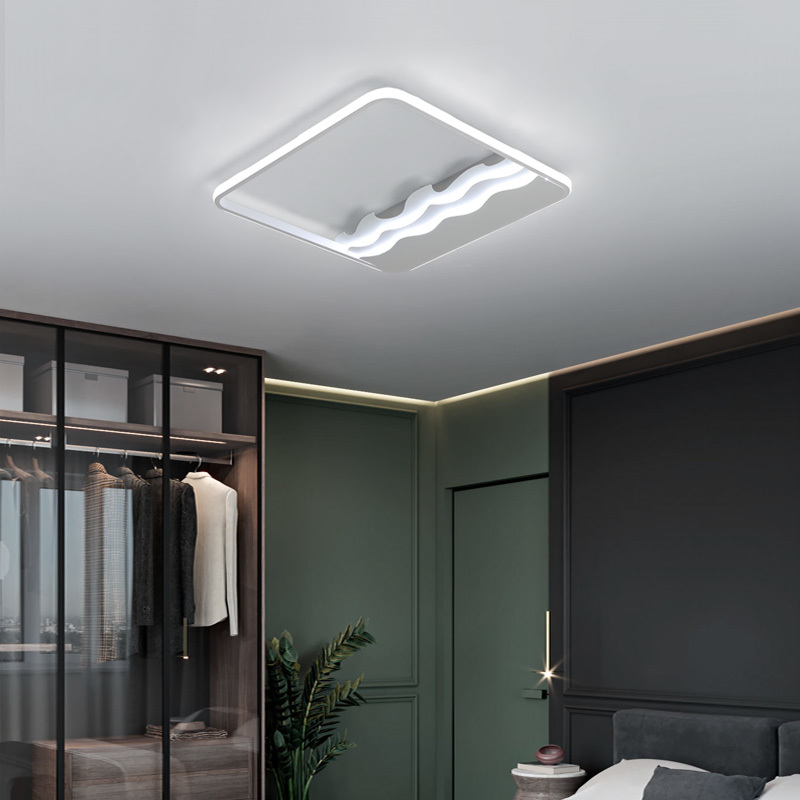 Square 40/50/60cm Dimmable Led Ceiling Lights For Living Room Bedroom Study Rest Room Home Modern led Ceiling Lamp FixtureSquare 40/50/60cm Dimmable Led Ceiling Lights For Living Room Bedroom Study Rest Room Home Modern led Ceiling Lamp Fixture