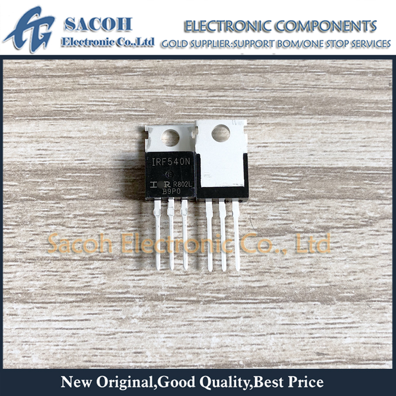 5pcs New IRL540N IRL540 Power MOSFET TO-220 IR NEW