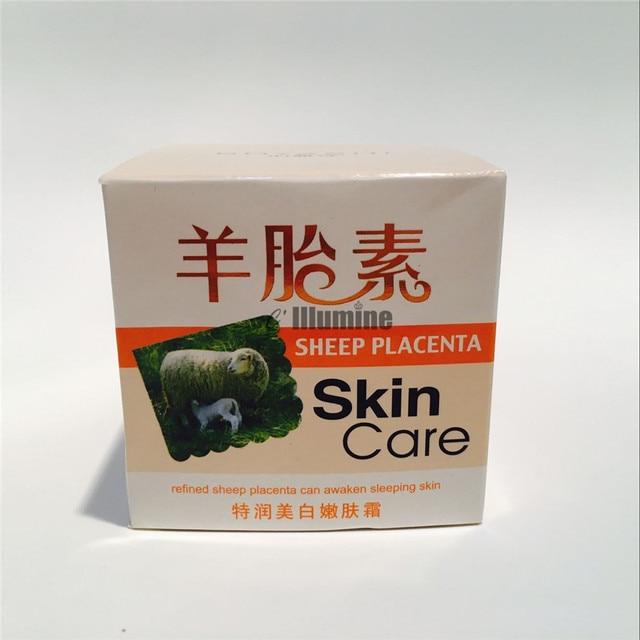 Refined Sheep Placenta Skin Care Cream Whitening Nourishing Awaken Sleeping SkinTender Moisturizing 60g