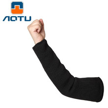Self-defense Arm Guard (8 pairs) Top Cutting Against Glass Knife Cut Glove Cuff Cut-resistant Protective Safety Sleeves цена