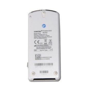 Rechargable Portable ECG Monitor PM10 Bluetooth Mobile App ECG Detector, CONTEC US 6