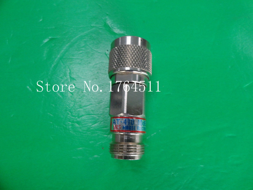 [BELLA] Hirose HRS AT-410 DC-13GHz 10dB 2W N Coaxial Fixed Attenuator