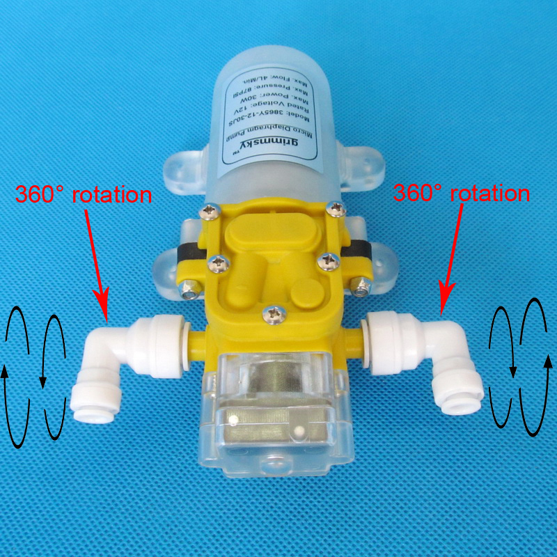 high quality 4L Min 12V DC 30W water purifier pressurizer automatic water booster pump in Pumps from Home Improvement
