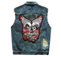 High Quality Brand New Mens Single Breasted Sleeveless Vests  men Jean Jackets Cowboy Motorcycle Waistcoats 5XL Plus Size
