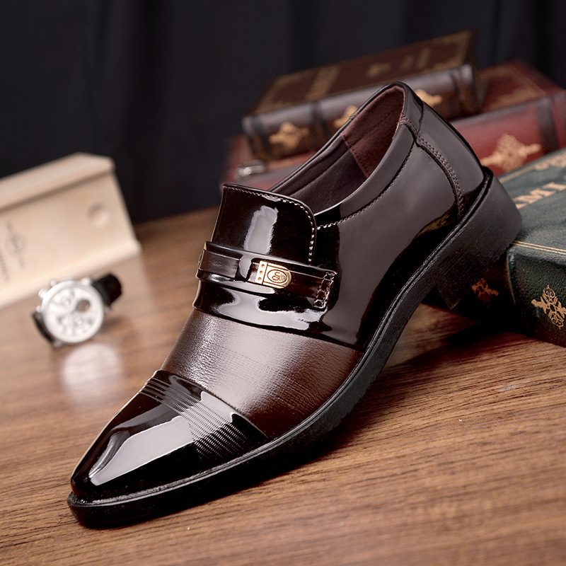 Formal Shoes 2018 New Fashion Style Designer Formal Mens Dress Shoes Genuine Leather Luxury Wedding Shoes Men Flats Office Shoes Lc8166 100% Guarantee