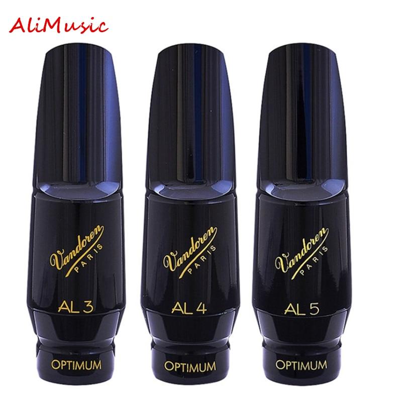 Vandoren Alto Saksafon Bakalit Ağızlık AL3 AL4 AL5 Yumuşak Sesler Klasik Müzik Sax Enstrüman Aksesuarları Ücretsiz Kargo