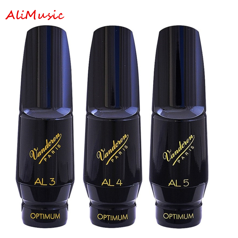 Vandoren Alto Saxophone Bakelite Mouthpiece AL3 AL4 AL5 Mellow Sounds Classical Music Sax Instrument Accessories Free Shipping