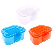 Breathable Plastic Fishing Bait Storage Box Live Worms Earthworm Lures Container(China)