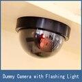 Simulación Virtual de Seguridad Casera Cámara Falsa Simulada de la Bóveda de Vigilancia CCTV con Luces LED, envío Gratis