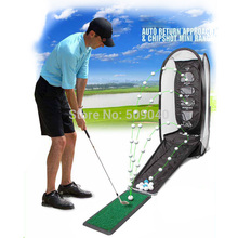 Golf Swing Exercises Practice Net Cage Mat Training Aid training free shipping