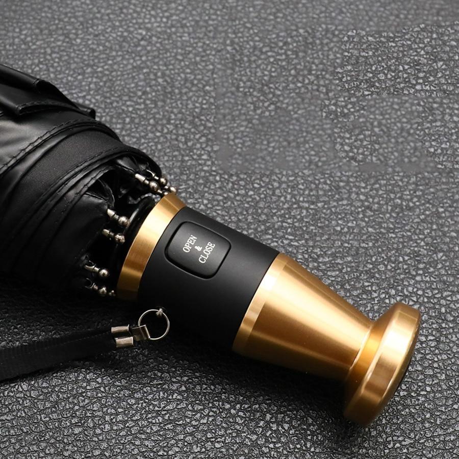 Alta Qualidade Homens de Guarda-chuva Automático Guarda-chuva À Prova de Vento de Golfe Grande Corporação Sombra de Sol Parachase Regalo Hombre Olycat 50KO061