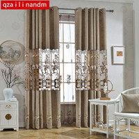 Modern luxury Fabric Window String Curtains High Quality Luxury Curtain For Bedroom Kitchen Curtains For Living Room