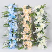 2019 artifical flower Wedding Flower Props Road lead arch flower party Stage long table centerpieces Shop Window display flower