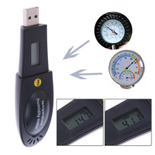 Buy HT-163 Barometric Pressure Temperature Humidity Data Logger Recorder USB Thermometer Hygrometer Barometer PC Connecting