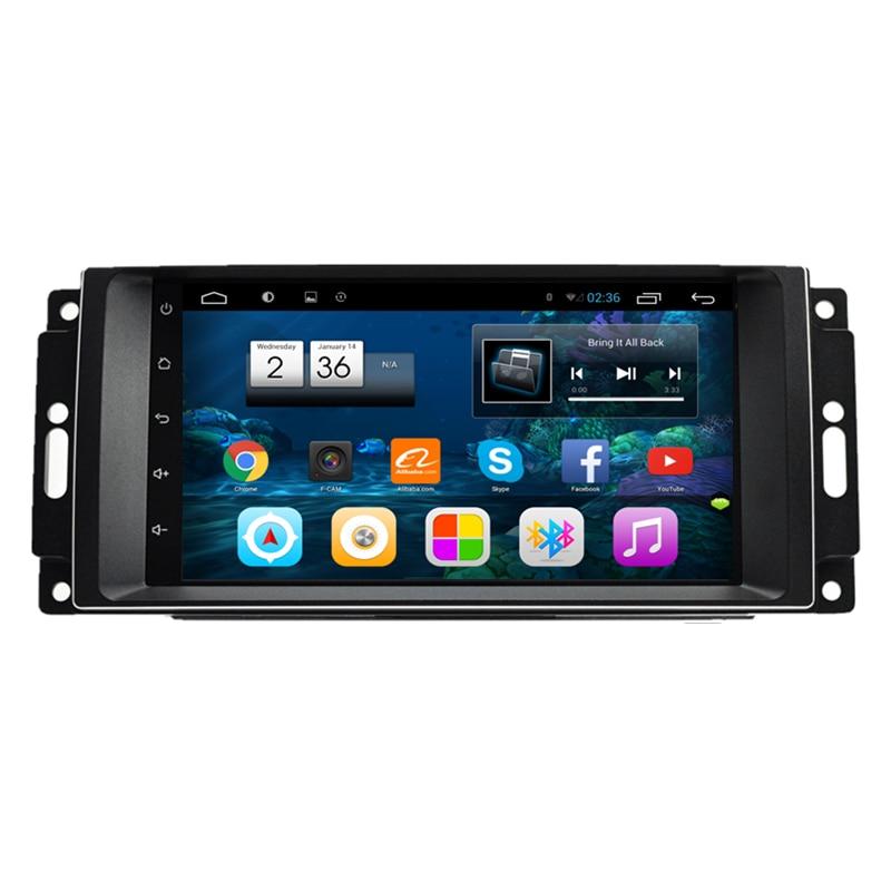 7 Quad Core Android 6 Autoradio Headunit Head Unit Stereo Car Multimedia GPS for Dodge RAM