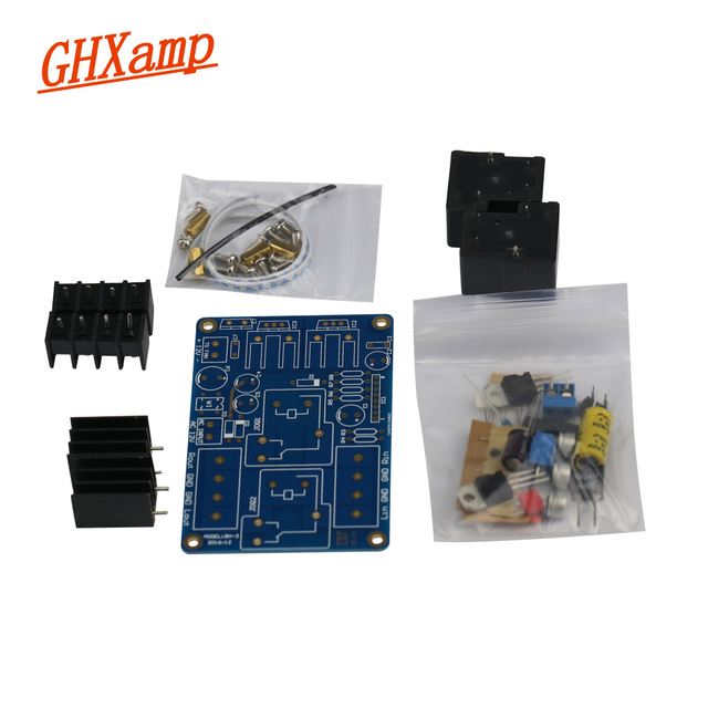 GHXAMP UPC1237 Fever Speaker Protection Board Kits Dual 30A Relay