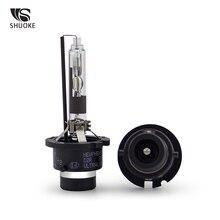 SHUOKE Xenon HID Best D2R Ultra Life Type 12V 35W 3200Lm 4300K 5000K 6000K 3000h 2 PCS Headlight Light Bulb Replacement
