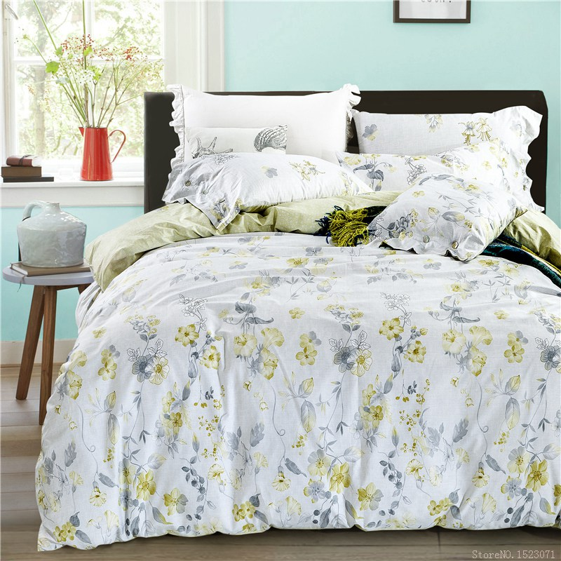 Popular Yellow Floral Bedspread-Buy Cheap Yellow Floral ...