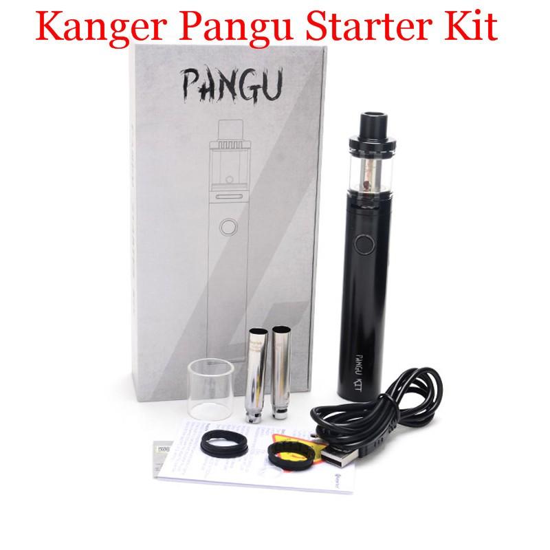 Original Electronic Cigarette Kits Kanger Pangu Kit 3.5ml Liquid Capacity 2500mah Built-in Battery Capacity with PGOCC Coil YY (9)