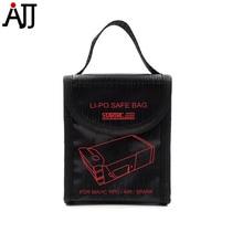 DJI Mavic Li-Po akkumulátor biztonságos táska Robbanásbiztos táskák hordtáska DJI Mavic Pro Air Spark Drone tartozékokhoz
