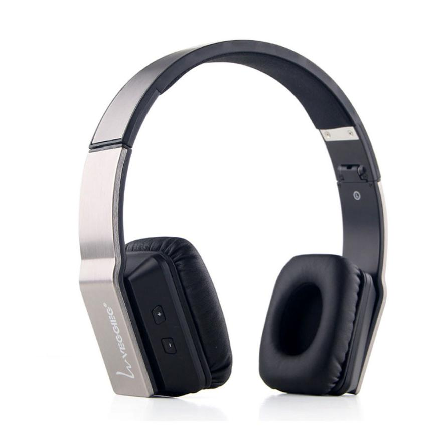 High Quality Foldable Stereo Wireless Bluetooth Headphone Headset With Mic For PC high quality portable wireless bluetooth stereo foldable headphone with built in mic speaker for music