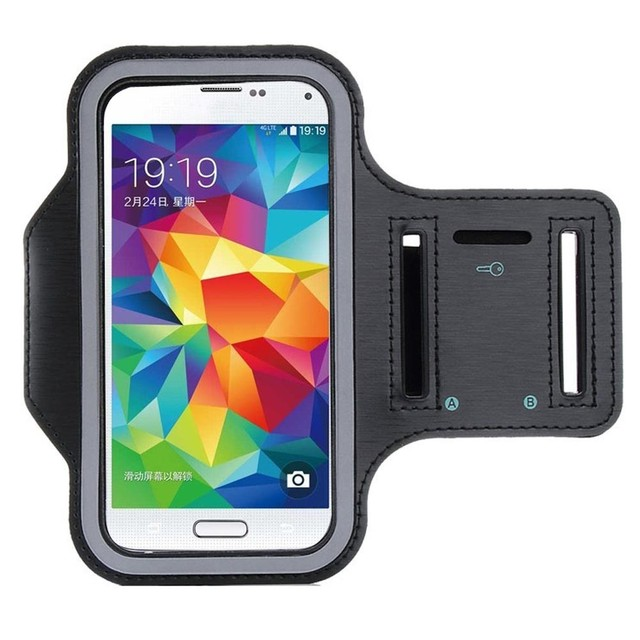 sale retailer ab556 a3c62 US $2.69 |Fecoprior Armband for Samsung Galaxy A6 2018 / A8 2018 / A5 2017  Waterproof Sports Case Running ARM Band Belt Cover Outdoor-in Armbands from  ...