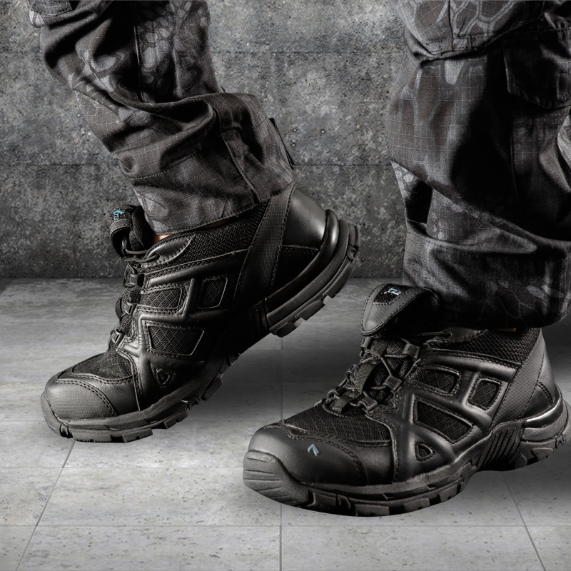Men Summer Mesh Breathable Antiskid Military Combat Tactical Boots Outdoor Sports Training Climbing Desert Hiking Shoes Sneakers military men s outdoor cow suede leather tactical hiking shoes boots men army camping sports shoes